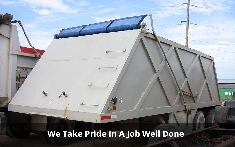 We Take Pride In A Job Well Done | asphalt paving machine