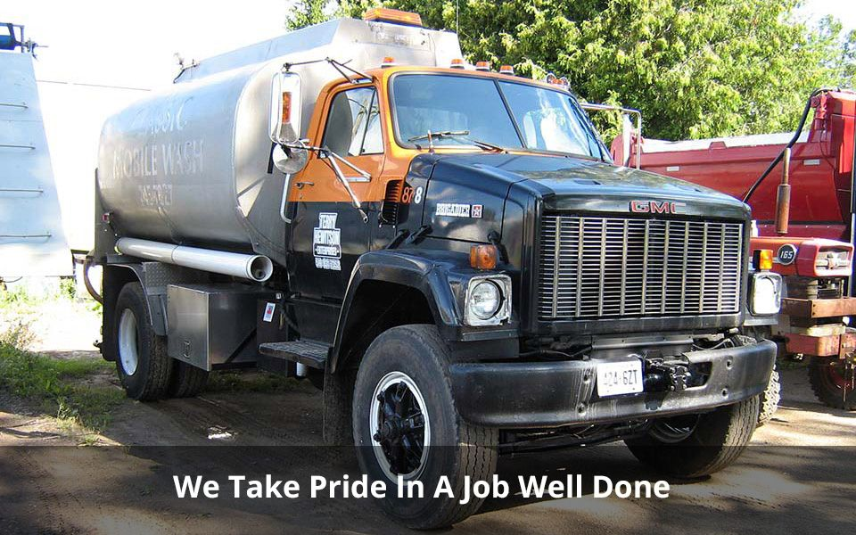 We Take Pride In A Job Well Done | Asphalt tanker