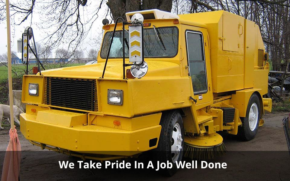 We Take Pride In A Job Well Done | Asphalt paver