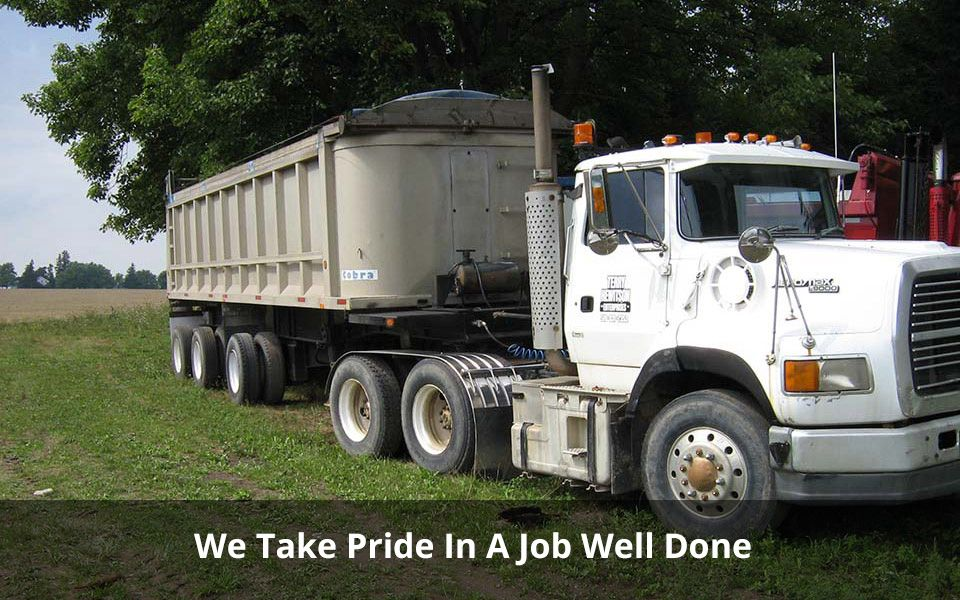 We Take Pride In A Job Well Done | semi truck