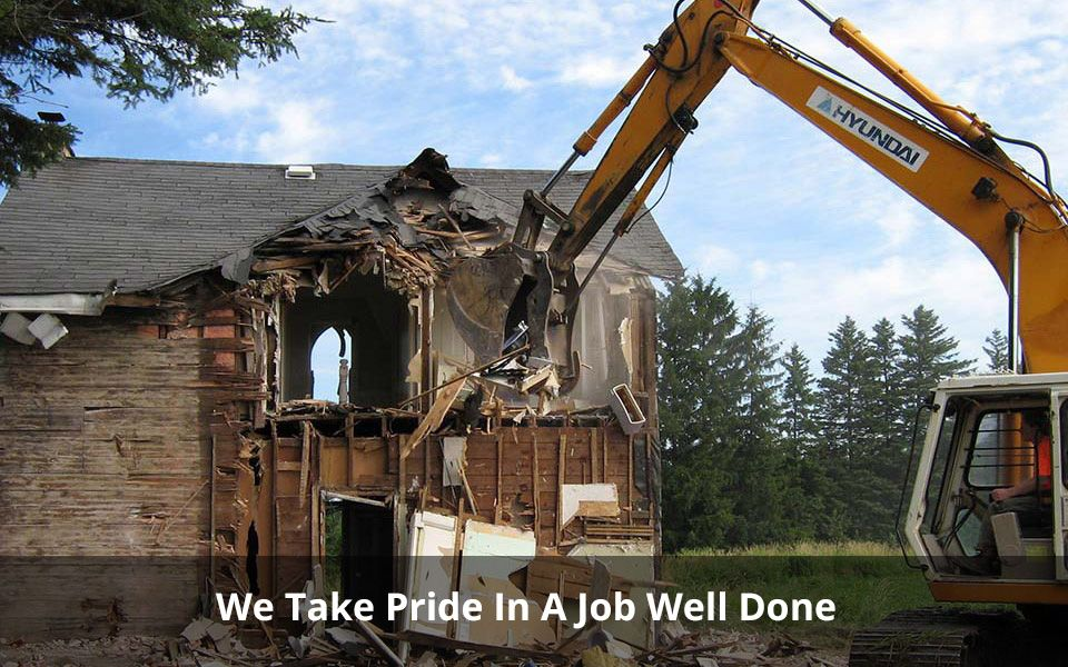 We Take Pride In A Job Well Done | Bulldozer